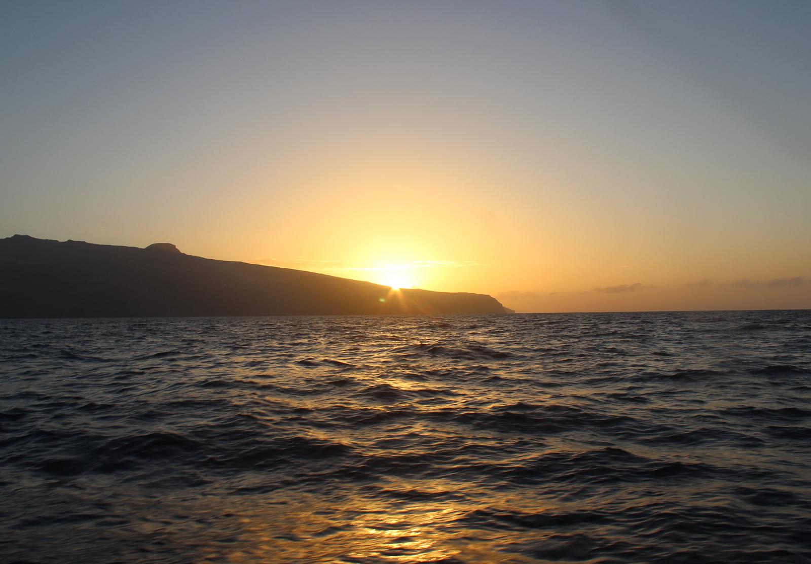 Sonnenaufgang auf Gomera