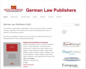 German Law Publishers